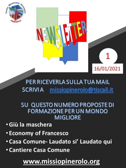 Newsletter N. 1 - CMD Pinerolo